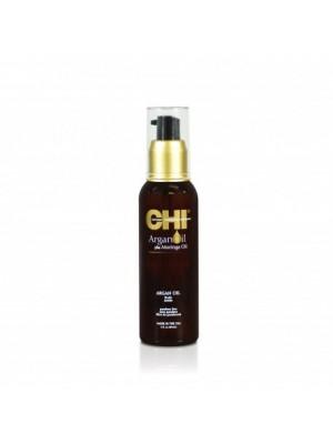CHI Argano ir moringų aliejų priemonė plaukams, 89ml