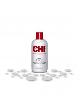 "CHI Plaukus stiprinantis šampūnas po dažymo  ""Infra"", 350ml/950ml"