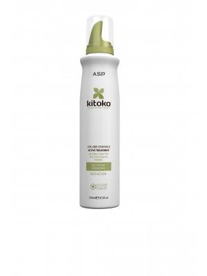 Kitoko VOLUME-ENHANCE apimtį didinantis, aktyviai gydantis kondicionierius, 250 ml
