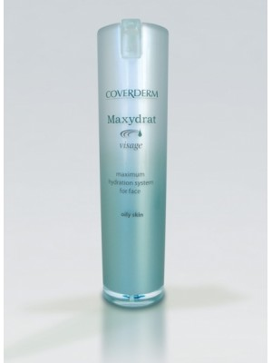 Coverderm Maxydrat Visage Oily, 30ml