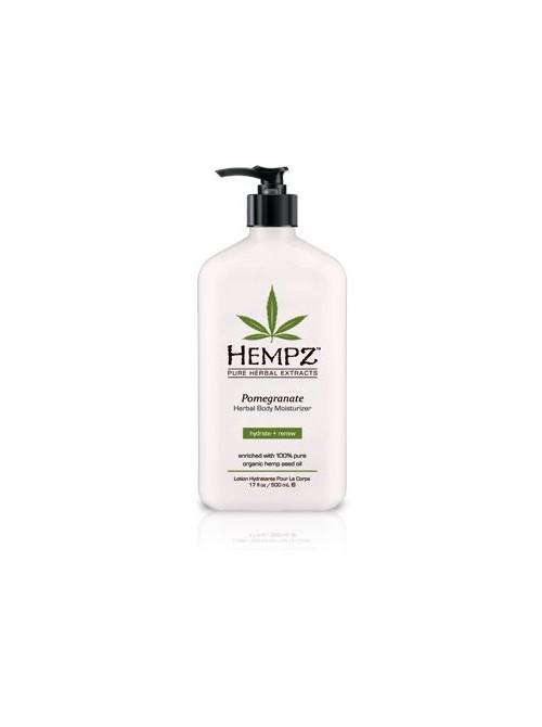 Drėkinantis kūno pienelis su granatų ir žolelių ekstraktais Hempz Herbal Pomegranate Moisturizer 500 ml