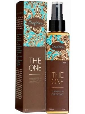 Saphira Daugiafunkcinė plaukų priežiūros priemonė su Negyvosios jūros mineralais ir keratinu, 150 ml