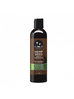HEMP SEED NAKED IN THE WOODS masažinis aliejus (236ml)