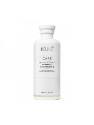Keune CARE šampūnas silpniems ir slenkantiems plaukams DERMA ACTIVATE, 300ml