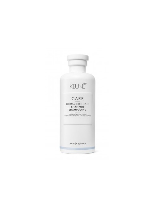 Keune CARE šampūnas nuo pleiskanų atsiradimo DERMA EXFOLIATE, 300ml/1L