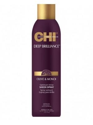 CHI Deep Brilliance Plaukų blizgesys su alyvuogių ir Monoi aliejais, 74g