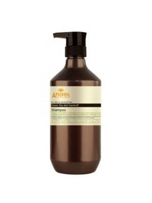 Šampūnas pleiskanojantiems/riebiems plaukams Angel Green Tea  400ml