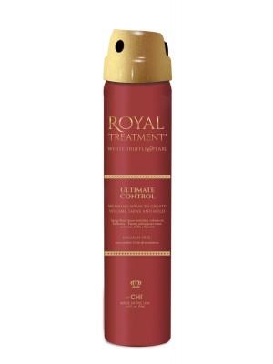 Farouk Royal plaukams apimties priduodantis lakas Ultimate Control 74g
