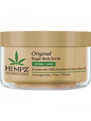 Hempz Augalinis kūno šveitiklis su cukrumi HERBAL SUGAR BODY SCRUB 215ml