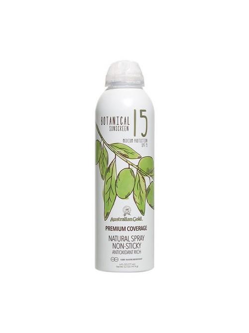Purškiama apsaugos priemonė nuo saulės Australian Gold Botanical SPF15 Spray 177ml