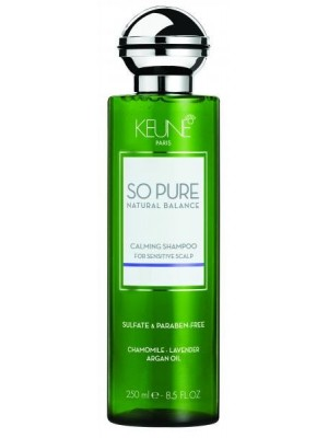 Keune SO PURE raminantis šampūnas CALMING 250ml/1000ml