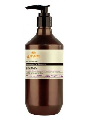 Šampūnas ploniems silpniems plaukams Angel Lavender Full Energetic Shampoo 400ml/800ml