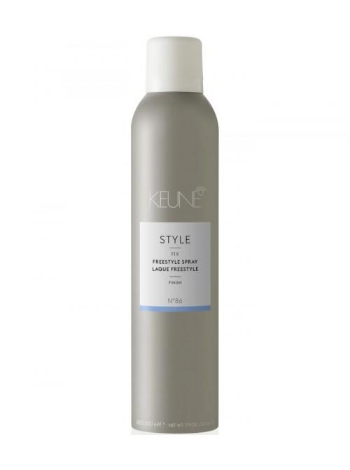 Keune STYLE 24h fiksuojantis stiprus plaukų lakas FREESTYLE