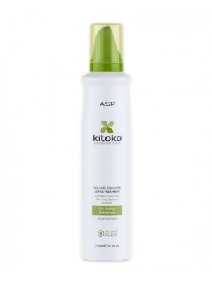 Apimtį didinančios putos (kaukė) Kitoko Volume Enhance Active 250 ml