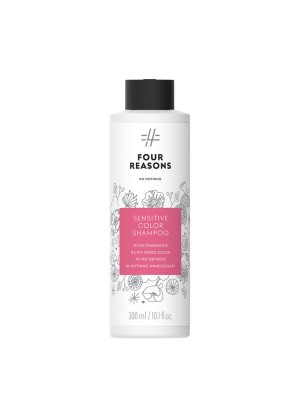 Four Reasons No Nothing Sensitive Color Shampoo šampūnas dažytiems plaukams 300 ml