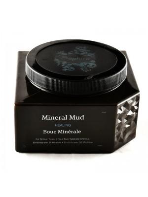 Kaukė-mineralinis purvas plaukams Saphira Mineral Mud su Negyvosios jūros mineralais, 90ml/250ml/500ml/1000ml